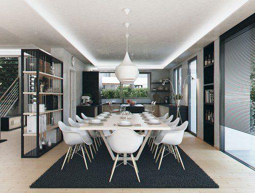 infografías 3d Marbella interior villa