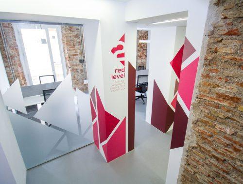 diseño interior oficinas coworking malaga