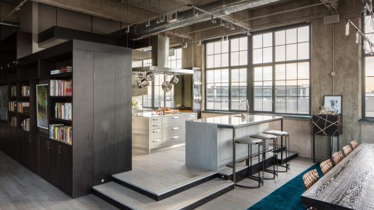 loft estilo industrial high tech