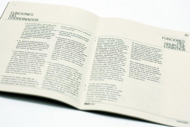 Diseño editorial cuerpo texto