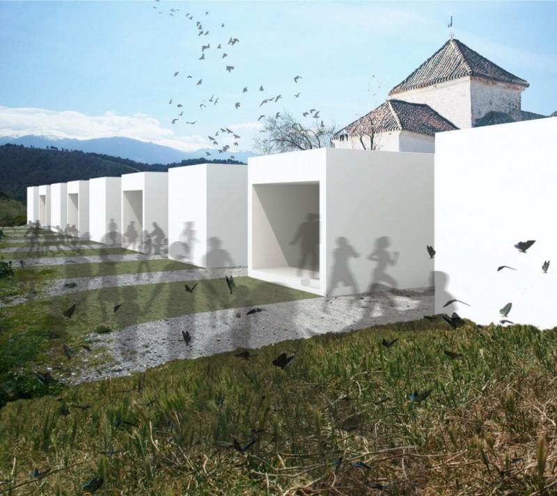 Infografía 3D integración entorno Granada