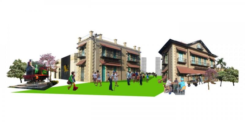 Infografías 3D para concurso Proyecto Zona aduana Barranquilla