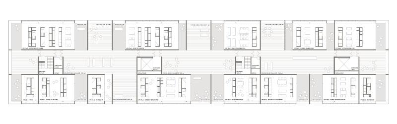 Diseño planta viviendas Granada
