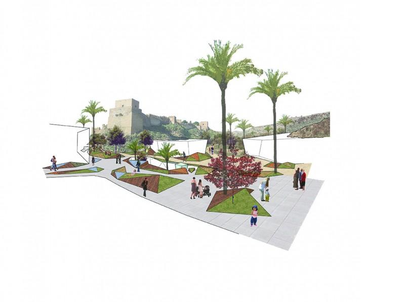 Infografías Fotomontajes concepto Almería
