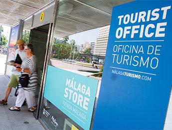 Nuevo diseño oficina turismo Plaza de la Marina Málaga