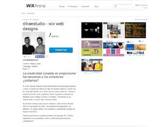 DIKA estudio diseñadores WIX PRO