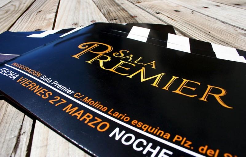 Diseño de Invitación campaña apertura Sala Premier