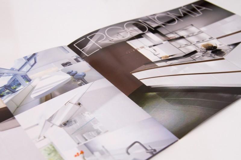 Diseño de Catálogo mobiliario cocinas