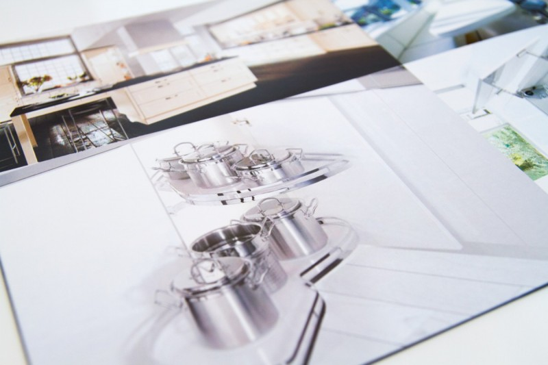 Diseño de Catálogo cocinas Marbella