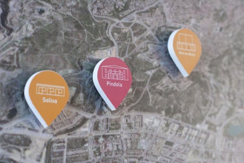 Diseño Piezas Mapa Merchandising