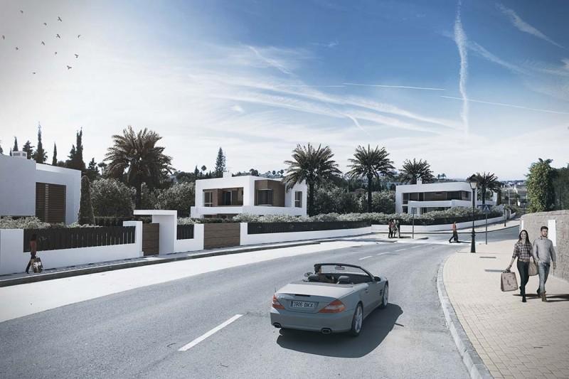 Infografías conjunto Villas Marbella
