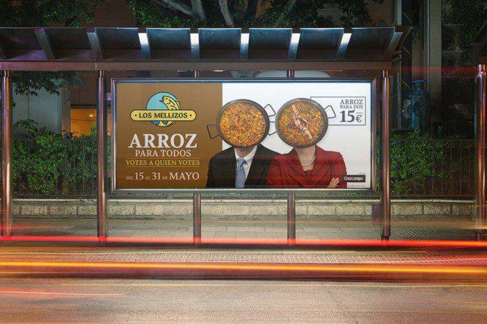 Campaña de Street Marketing Los Mellizos
