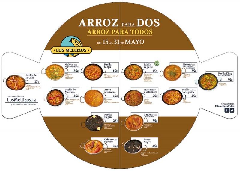 CARTA ARROZ para TODOS
