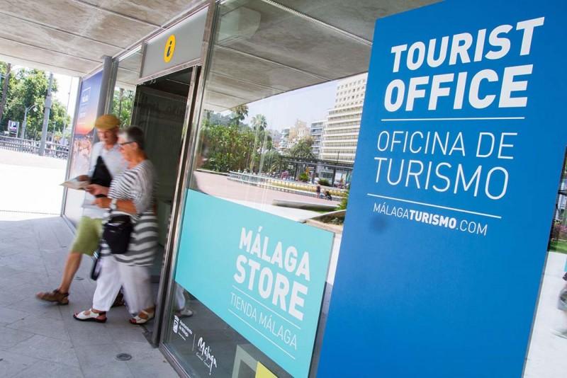 acceso nueva oficina turismo malaga