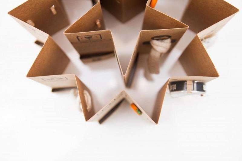 Diseño de packaging cartón kraft
