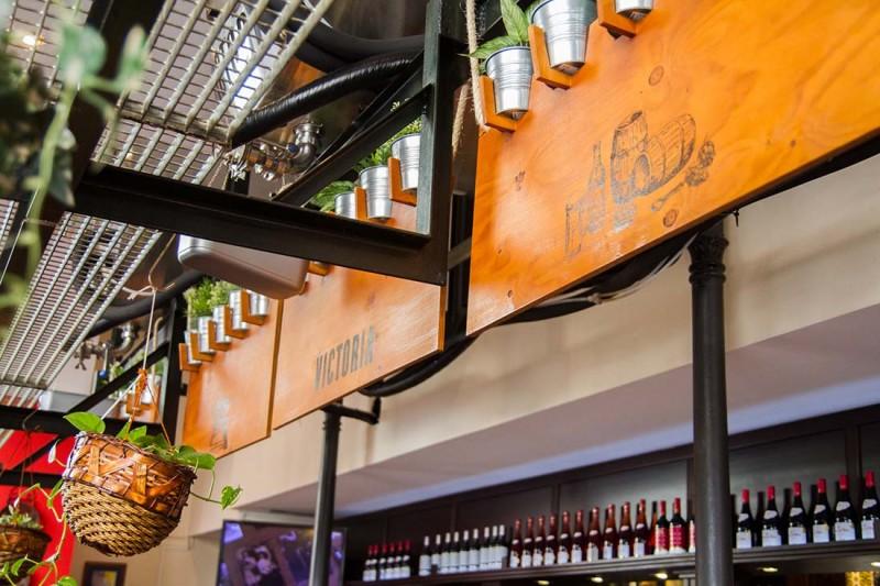 Cartelería interior para Cervezas Victoria