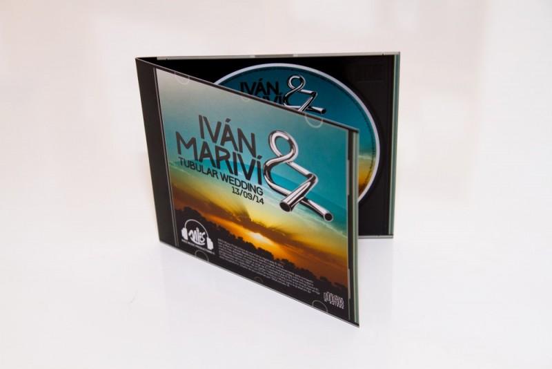 diseño invitación de boda CD