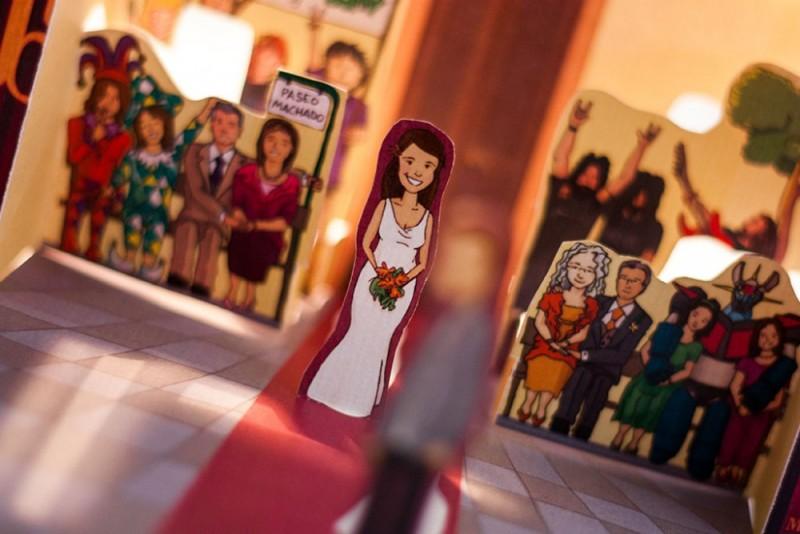 invitacion de boda original Málaga