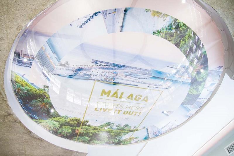 oficina de turismo malaga lucernario