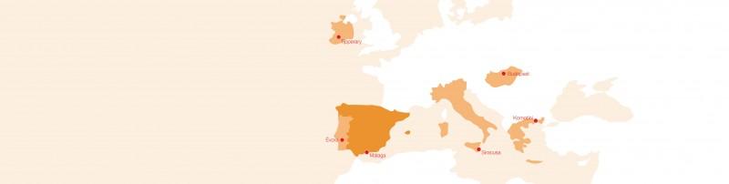 Proyecto ESPY socios Unión Europea