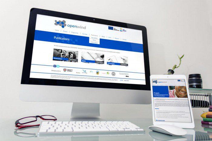 Diseño de Portal web Openwind