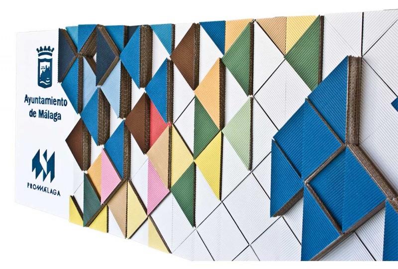 Diseño de paneles Stand Promálaga