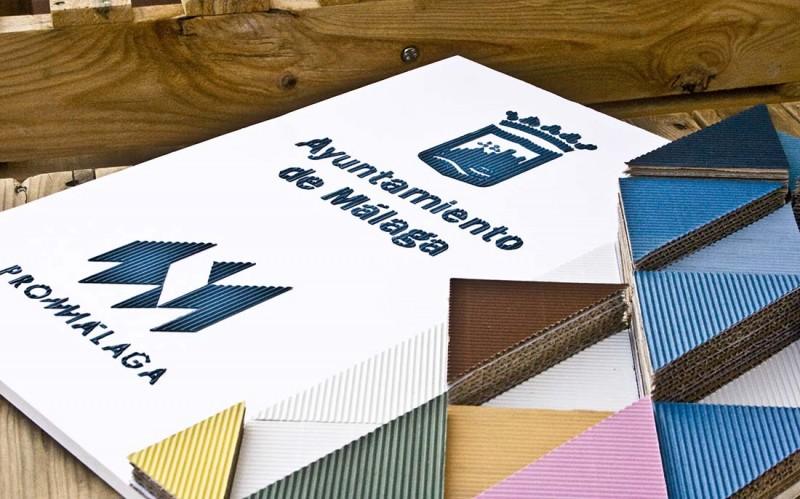 Diseño de paneles reciclados Promálaga