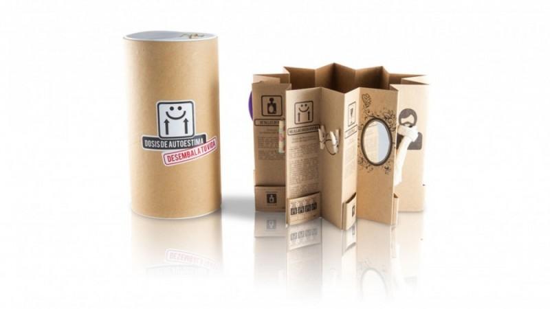 Diseño de packaging Dosis de autoestima