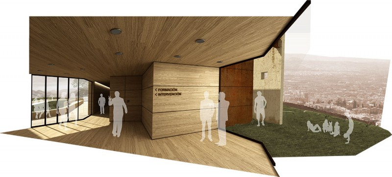 Infografía 3D interior