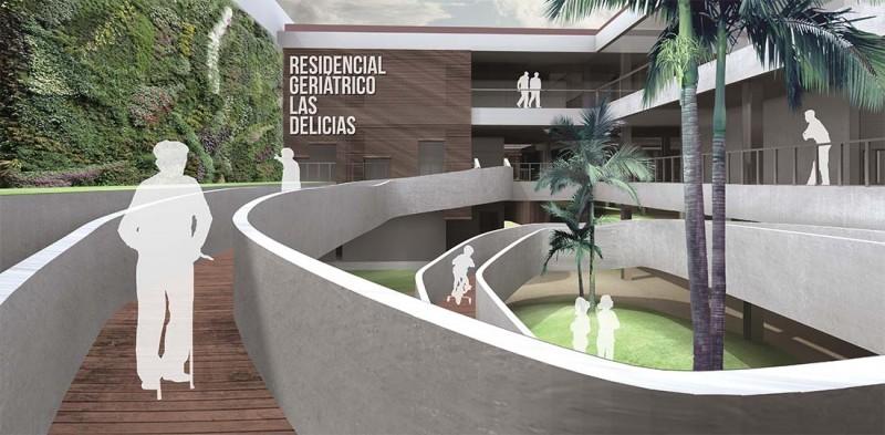 infografia Málaga rampa acceso