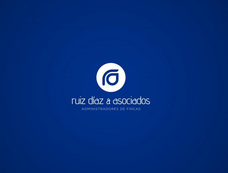 Diseño de logotipo para empresa Ruiz Díaz Asociados