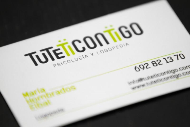 Diseño tarjeta de visita | tuteticontigo | Málaga
