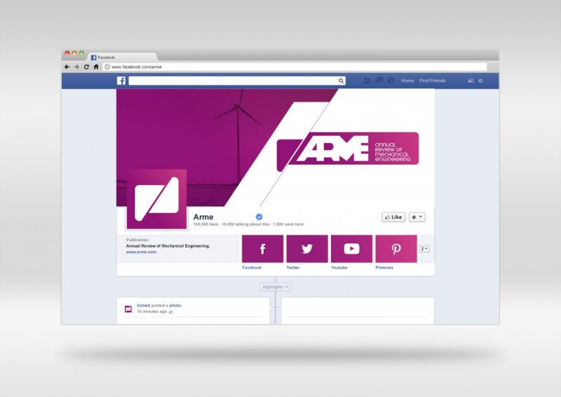 Identidad Visual Corporativa en Facebook