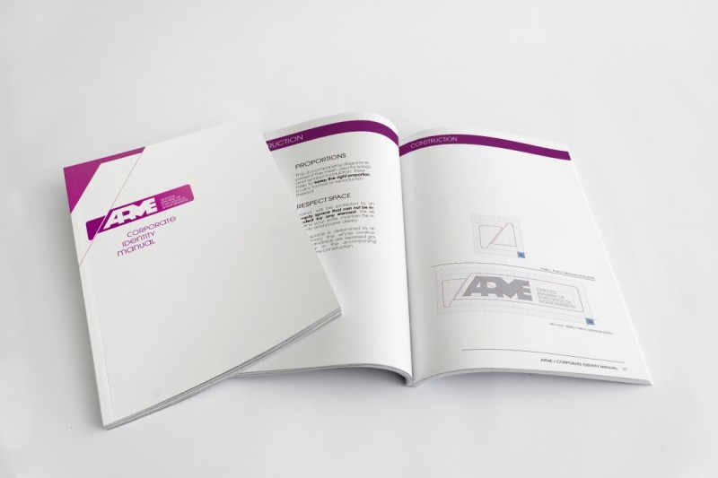 Manual Identidad Visual Corporativa ARME