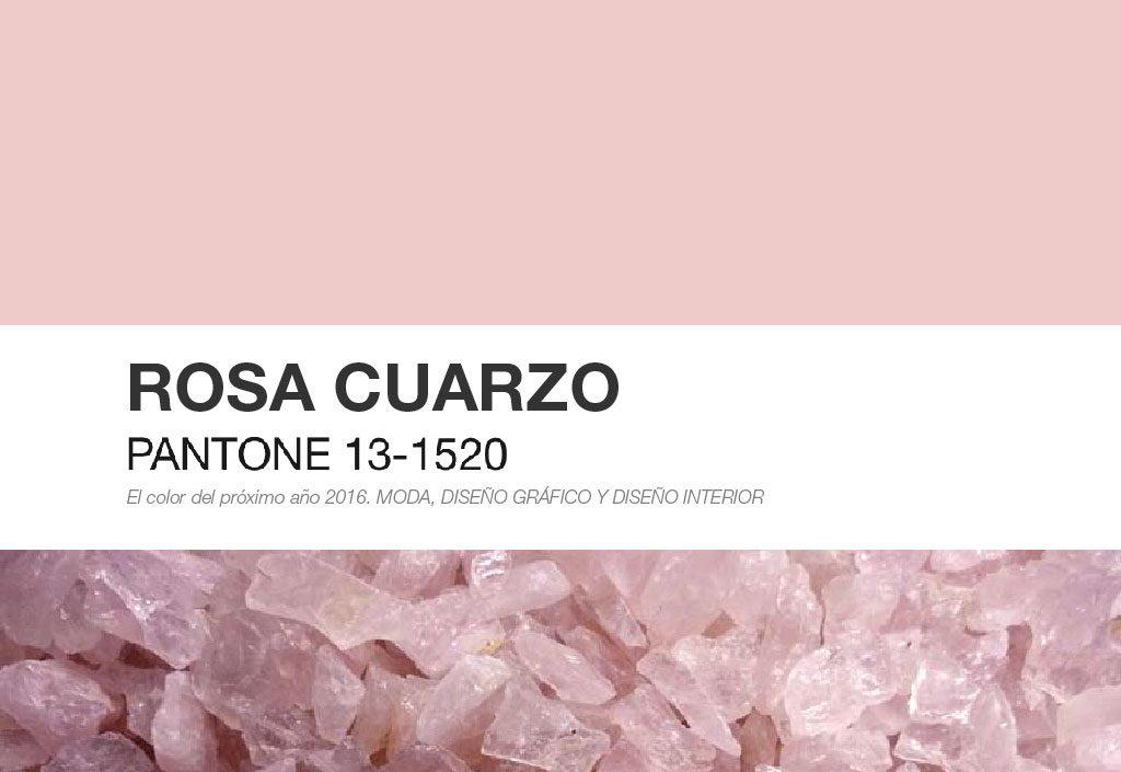 Rosa Cuarzo Pantone 2016