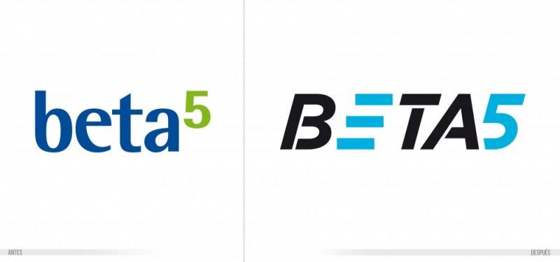 rediseño de logotipo comparativa