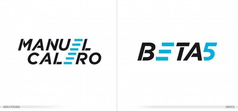 comparativa conexión símbolo con logotipo