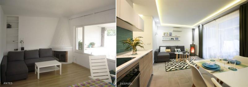 cambios diseño interior salón