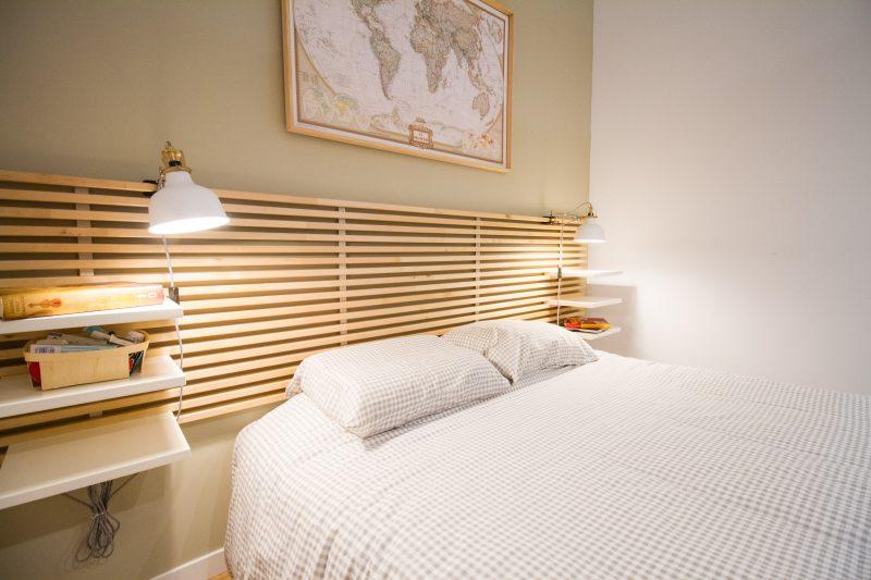 dormitorio piso pequeño málaga