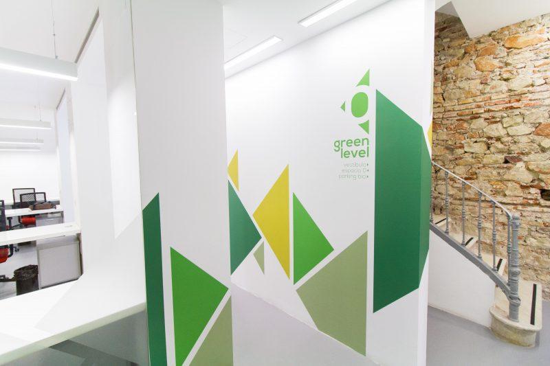 tematización interior coworking malaga