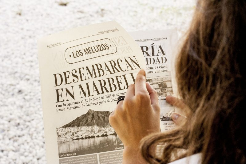 Periódico Los Mellizos News Desembarcamos en Marbella