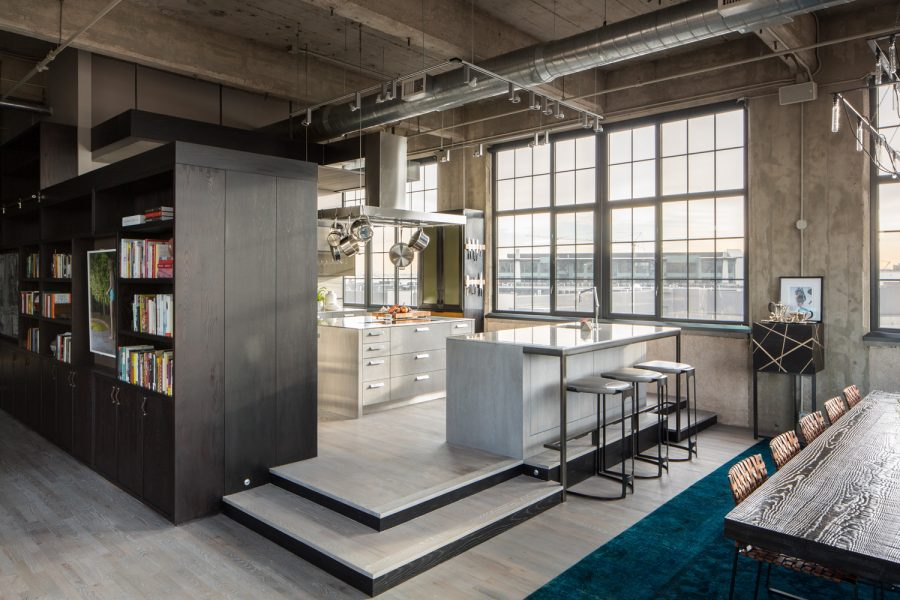 loft estilo industrial high tech