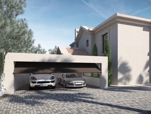 Infografías 3D Garaje Marbella