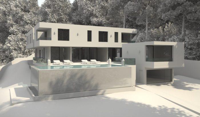 Proceso infografía Villa 3D