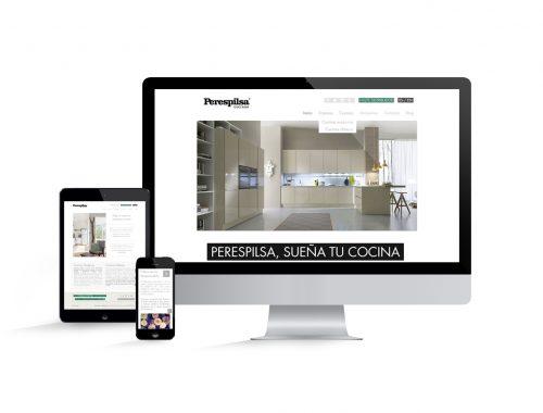 diseño web cocinas perespilsa