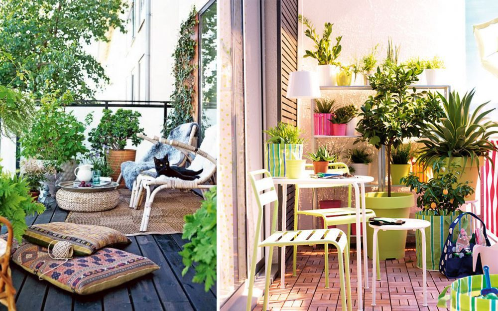 Ideas de decoraci n para transformar tu terraza o balc n for Idea jardineria terraza balcon