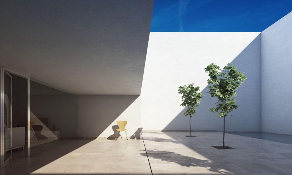 Dise o de casas famosas dika blog dise o arquitectura - Casa guerrero campo baeza ...