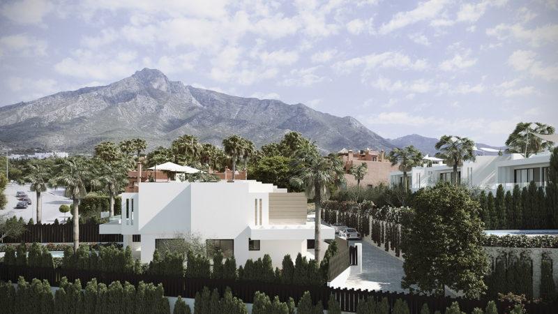 Vista de la Concha Villa Marbella