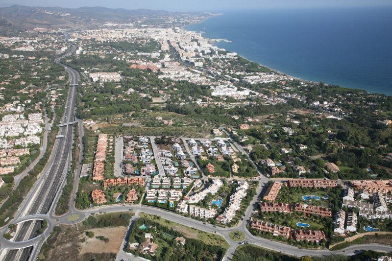 Integración imagen urbanización marbella