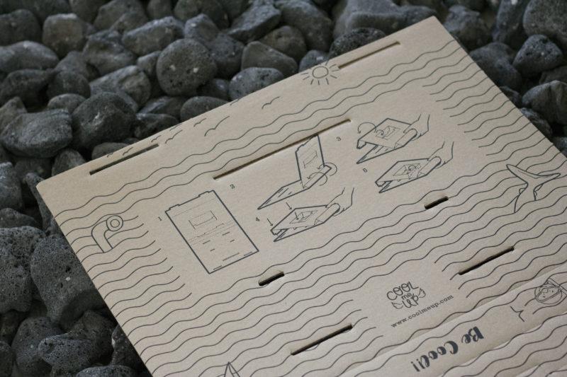 Diseño de cartón instrucciones